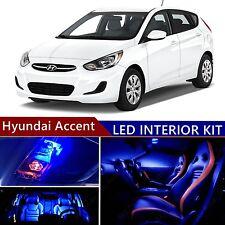9pcs LED Blue Light Interior Package Kit for Hyundai Accent 2015-2016