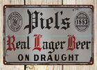 PIEL'S BEER metal tin sign indoor outdoor reproductions