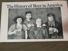 THE HISTORY OF BEER IN AMERICA by BILL YENNE--HC/DJ/