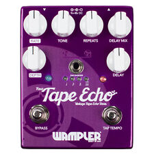 Wampler Faux Tape Echo v2 Delay TRue Bypass Guitar Effects Pedal Stompbox 2