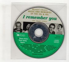 (IO701) I Remember You, disc 1, 20 tracks - Reader's Digest CD