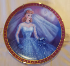 The 1959 Barbie Bride To Be Limited Edition Plate The Danbury Mint 1990