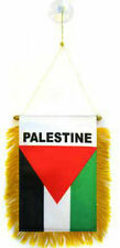 "Palestine Mini Flag 4""x6"" Window Banner w/ suction cup"