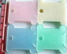80 DMC Plastic Thread Bobbin Cross Stitch, + 1 SET free stickers