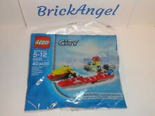 NEW LEGO 30220 City Fire Speedboat Fireman Mini Figure Factory Sealed Polybag