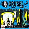 GRUSELSERIE - 004/PROJEKT X-INVASION DER ALIENS   CD NEW