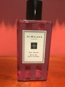 Authentic Jo Malone London RED ROSES Bath Oil Full Size 8.5oz / 250ml.New no Box