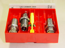 LEE 90623 38 Super Auto 38 Auto 3 DIE CARBIDE SET (Ships Priority Insured)