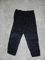 Lane Bryant Pants Plus Size 14/16 Black Pull On Inseam 29 NWOT
