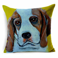 "18x18"" Size Dog Decorative Cushions & Pillows"