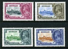 SEYCHELLES 1935 KING GEORGE V SILVER JUBILEE STAMP SET