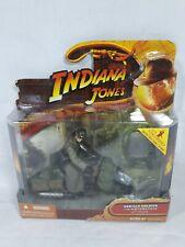 Indiana Jones Raiders Of The lost Ark Soldier + Motorcycle Hasbro 2008
