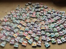 100 wedding favours Wine Glass Charms Table Names Campers Vans Splits