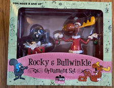 rocky and bullwinkle Oranament Set