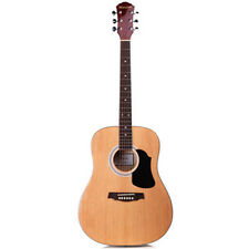"""NEW 41"""" Full Size Handcrafted Steel String Dreadnought Natural Acoustic Guitar"""