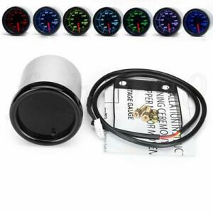 "Universal 2"" 52mm Digital Car Race Tachometer Tacho RPM Gauge 7Color LED Display"