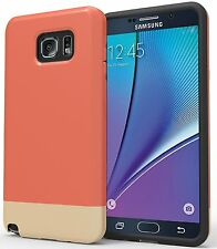 Galaxy Note 5 Case : Stalion® [Slider Series] Protective Hard Slim Case (French