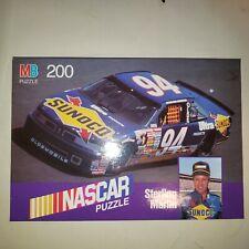 VINTAGE 1990 NASCAR Sterling Marlin #94 Sunoco Oldsmobile MB 200 Piece Puzzle