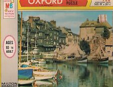 """Vintage MB Oxford """"The Waiting FLeet"""" 750 piece 19"""" x 21"""" jigsaw puzzle 1969"""
