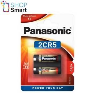 PANASONIC LITHIUM POWER  2CR5 BATTERY 6V DL245 PHOTO CAMERA EXP 2030 NEW
