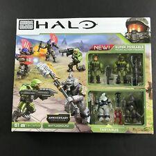 HALO Mega Bloks 97519 Anniversary Collection Battleground Tartarus +More Figures