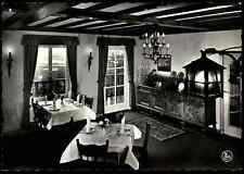 Belgien ~1950/60 Terlaemen Zolder Restaurant De Gulden Schalmei Tea-Roam Carte P