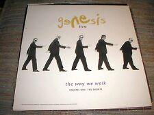 Genesis,The Way We Walk,The Shorts,Store Promo Record Album Ad Slick,1992,Rare