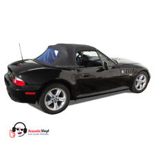 BMW Z3 Convertible Top in Black Trilogy Acoustic Vinyl, Plastic Window