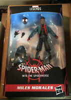 Marvel Legends Miles Morales Spider-Man Into The Spider-Verse