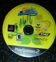 Spongebob's Atlantis Squarepants Ps2 Playstation 2 Disc Only TESTED Sony Rare