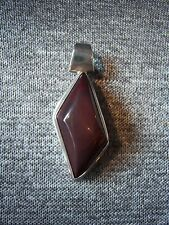 Sterling Silver 925 & Mookaite Pendant