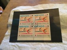 Mexico Used Stamp Block Of 4