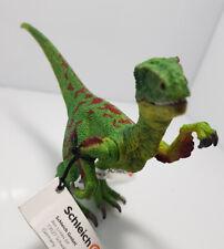 SCHLEICH 14530 Velociraptor grün Dinosaurier NEU mit Fahne