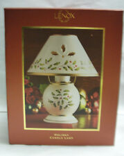 Lenox Porcelain China - Holiday Pattern - Votive Candle Lamp - New in Box