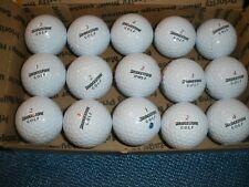 15 White Golf Balls BRIDGESTONE e6 ...slightly used