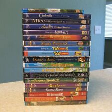 19 Disney / Animated Dvd Flawed - Incredibles Toy Story Aladdin Inside Nightmare