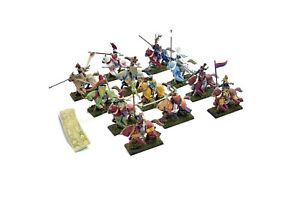 BRETONNIA 12 Knights of the Realm #2 METAL Painted Warhammer Fantasy