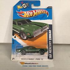 '68 Mercury Cougar #119 * Green * 2012 Hot Wheels * F5