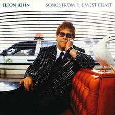ELTON JOHN - Songs From The West Coast (CD 2001) USA First Edition EXC