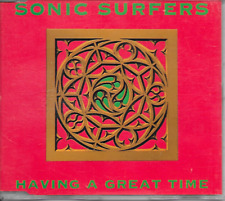 SONIC SURFERS - Having a great time CDM 6TR Euro House 1991 Holland