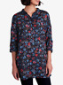 NEW Seasalt Polpeor Navy Floral L/Sleeve Tunic Shirt RRP £49.95 Now £27.95