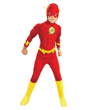 """Flash Costume, Kids Flash Muscle Costume, Large, Age 8 - 10, HEIGHT 4' 8"""" - 5'"""