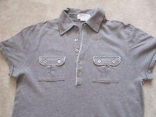 PAUL & JOE Paris fashion designer Polo shirt gris, IKKS, taille Small