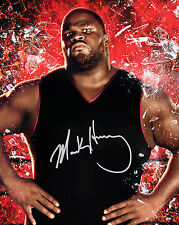MARK HENRY #1 (WWE) - 10X8 PRE PRINTED LAB QUALITY PHOTO (SIGNED) (REPRINT)