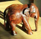 Elefant aus Holz Sammeln Figur Maße: ca. 10 x 12 x 6 cm Dekoration