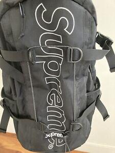 Supreme Backpack (FW18) Black - 3M Reflective