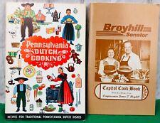 Vintage Pennsylvania Dutch Cooking And  Broyhill Senator Capitol Cook Book
