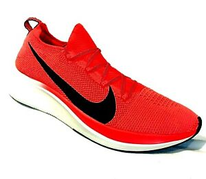 Nike Sneakers AR4561-600 Zoom Fly Flyknit Bright Crimson Mens 12.5 Running -NEW!
