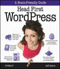 Head First WordPress: A Brain-Friendly Guide to Creating Your Own Custom Word...