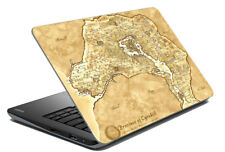 """Province Of Cyrodiil Laptop Skin Beige Stickers Cover Decal Fits 14.1"""" To 15.6"""""""